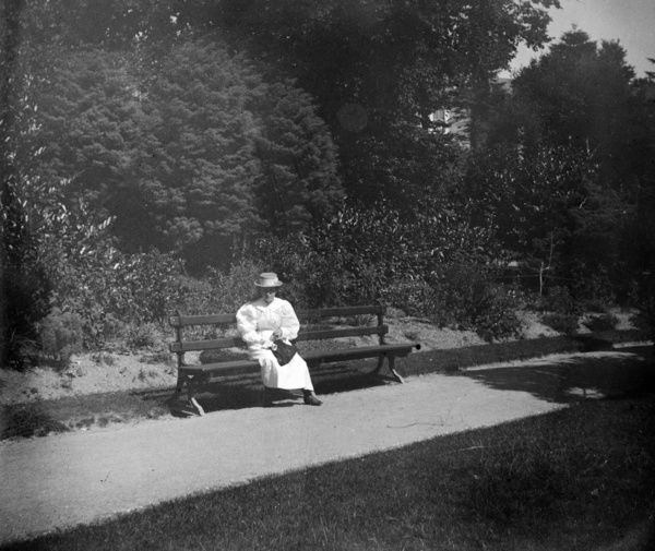 """Dulcie in the Park"". This photograph was taken by a family from Barnet, London. Photographer: Unknown"