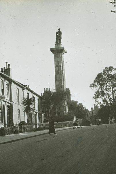 The Monument was designed in 1835 by Philip Sambell