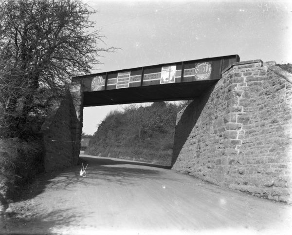 Tolgarrick Bridge carried the branch line over the Falmouth Road to Newham goods yard alongside the river Fal