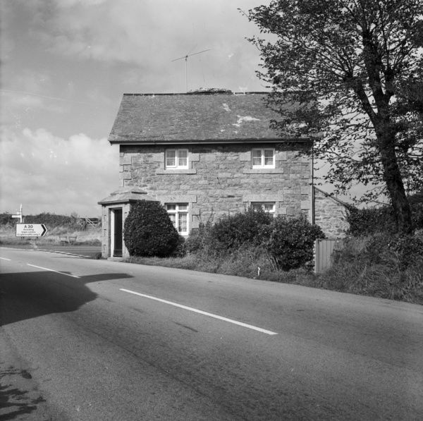 A view of the Toll House at Tremethick Cross from across the road. Photographer: Charles Woolf