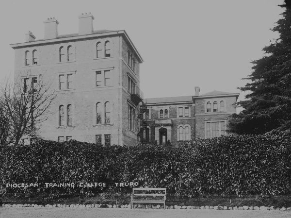 Truro Diocesan Training College, Agar Road, Truro, Cornwall. Probably early 1900s