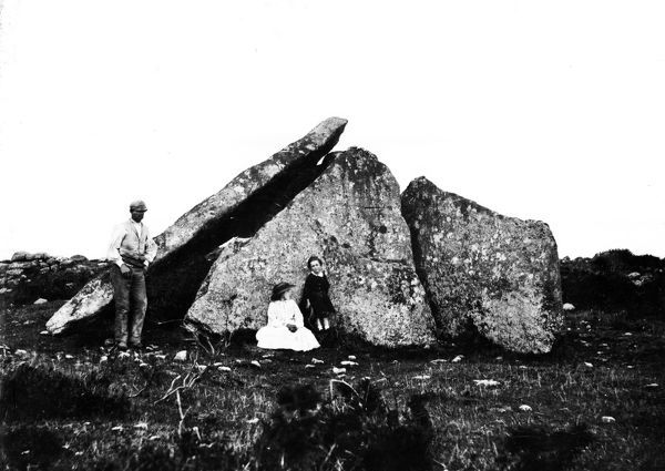 Zennor Cromlech, Cornwall. Summer 1858. © From the collection of the RIC