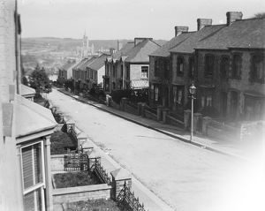 Adelaide Terrace, Truro, Cornwall. Early 1900s