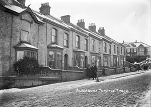 Alexandra Terrace, Truro, Cornwall. Early 1900s