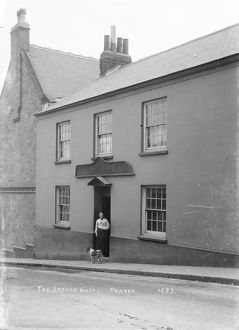 The Anchor Hotel, Quay Hill, Penryn, Cornwall. 1900s