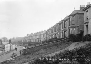 Bar Terrace, Falmouth, Cornwall. Early 1900s