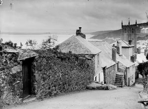 Barnoon Hill, St Ives, Cornwall. 1890s