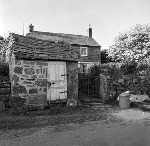 Beacon Cottage, Belowda, Roche, Cornwall. 1972