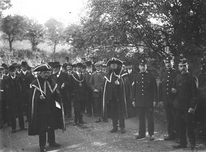 Beating the Bounds, Truro, Cornwall. 4th October 1912