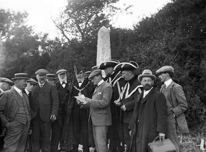 Beating the Waterbounds at Messack Point, Truro, Cornwall. 1st August 1911