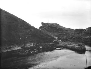 Boscastle harbour, Cornwall. 1902