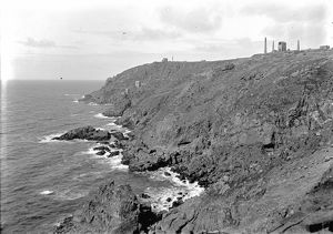 Botallack Mine, St. Just in Penwith, Cornwall.