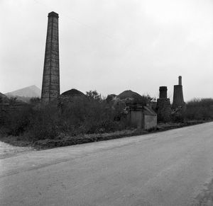 The Brickworks, Carbis, Roche, Cornwall. 1968