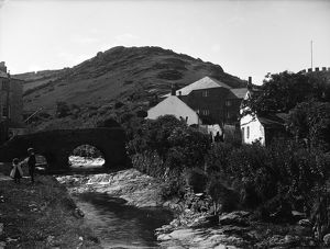 Bridge by mill, Boscastle, Cornwall