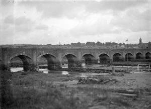 The bridge, Wadebridge, Cornwall. Early 1900s