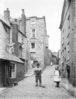 Bunker's Hill, St Ives, Cornwall. 1904