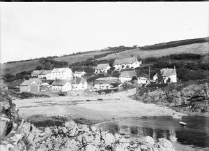 Cadgwith Cove, Cornwall. Early 1900s