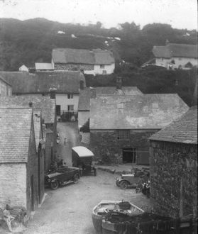 Cadgwith Village, Cornwall. 1925