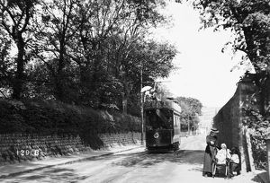 Camborne to Redruth tramway, Cornwall. 1904