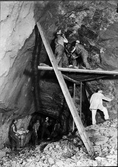 Carn Brea Mine, Illogan, Cornwall. 1900