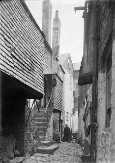 St Ives, Cornwall. Carnglaze Place. 1900