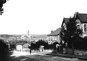 Chapel Hill, Truro, Cornwall. Before 1910