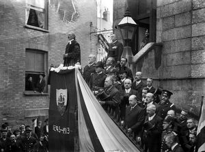 Charter Day, Fowey, Cornwall. 10th October 1913