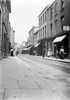 Church Street, Falmouth, Cornwall. Early 1900s
