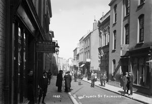 Church Street, Falmouth, Cornwall.