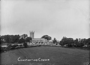 Constantine Church, Constantine, Cornwall. Early 1900s