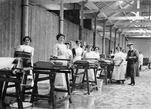 The Cornwall County Council Dairy School, Truro. Around 1920