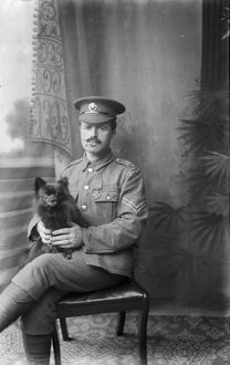 Corporal Thomas Edward Rendle, VC. Probably 1915