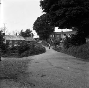 Cottages at Coldvreath, Roche, Cornwall. 1975