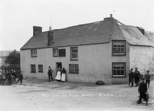 The Cross Keys Hotel, Penryn, Cornwall