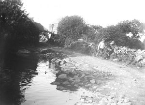 Crowgey Farm, Ruan Minor, Cornwall. 1903