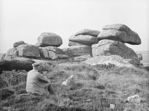 Cuckoo Rocks, Towednack, Cornwall. 1911