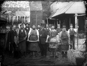 Cunnack's Tannery, Helston, Cornwall. October 1883