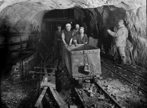 Dolcoath Mine, Camborne, Cornwall. Around 1900