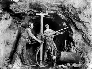Dolcoath Mine, Camborne, Cornwall. March 1904