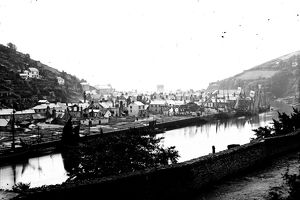 East Looe, Cornwall. Probably 1870s