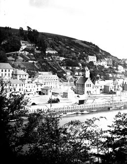 East Looe Quay, Looe, Cornwall. Probably before 1877