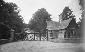 Entrance Lodge, Tremorvah House, Truro, Cornwall. Early 1900s