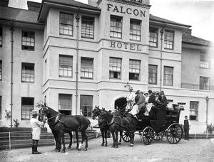 The Falcon Hotel, Bude, Cornwall