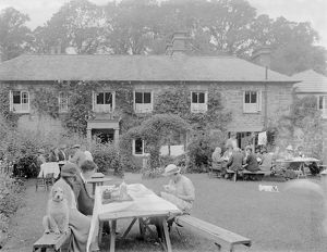 Falcon Inn, St Mawgan in Pydar, Cornwall. Probably 1921