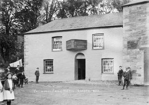 Falmouth Arms, Ladock, Cornwall. Early 1900s