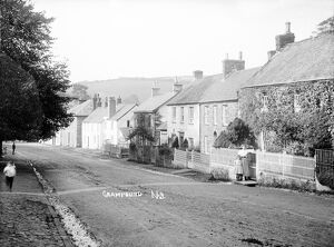 Fore Street, Grampound, Cornwall. Early 1900s