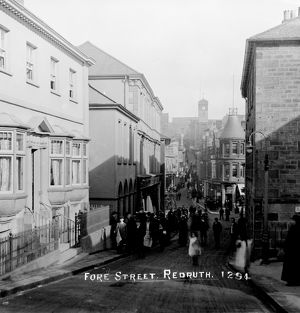 Fore Street, Redruth, Cornwall