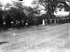 Furry Dance (Flora Day), Helston, Cornwall. Early 1900s.