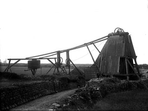 Geevor mine, St Just in Penwith, Cornwall. Between 1900 and 1903