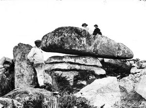 The Giant's Stone, Zennor, Cornwall. Undated